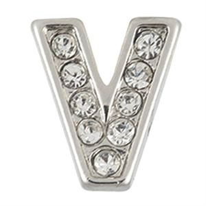 Picture of Silver 'V' Charm